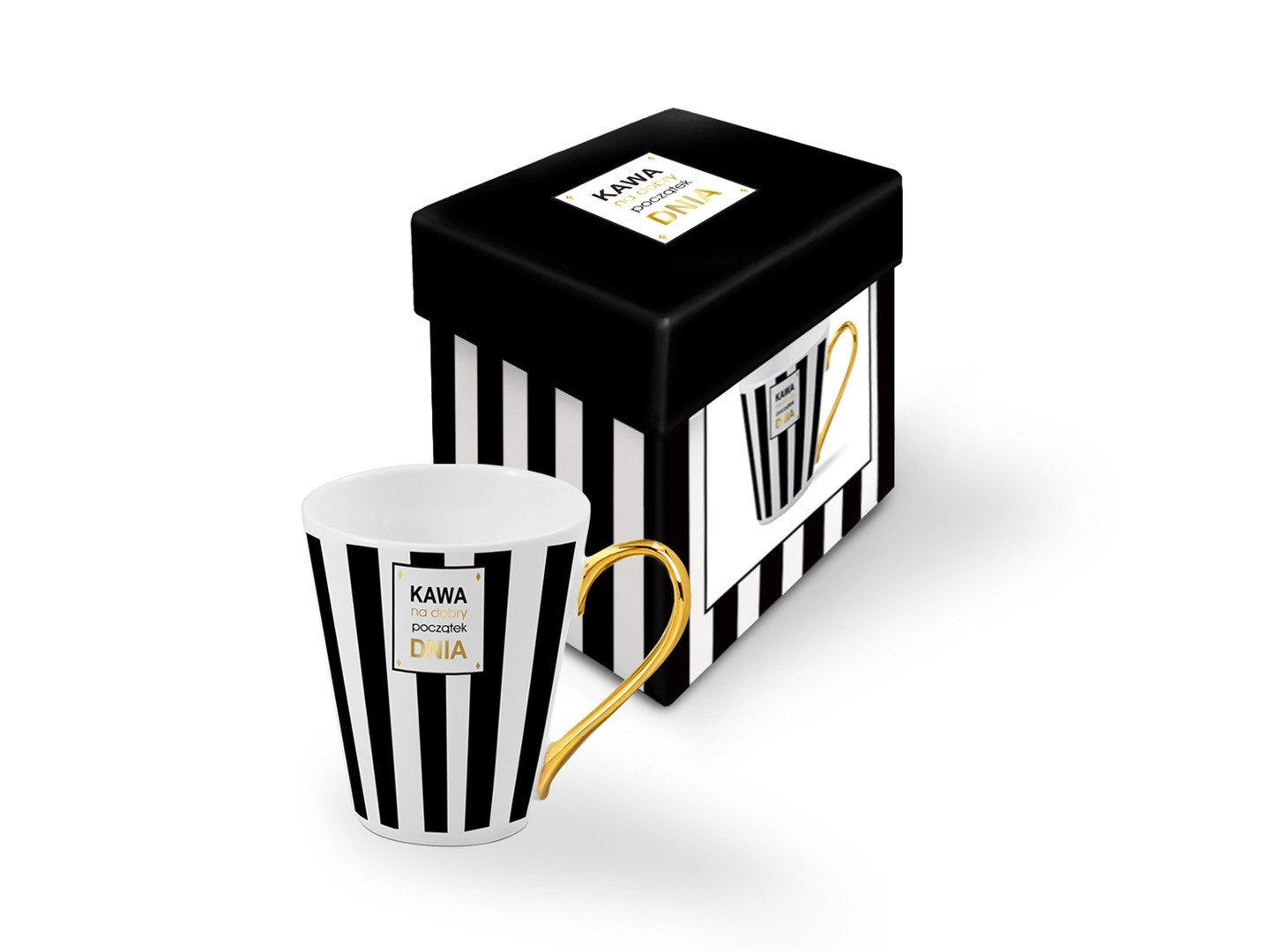 Kubek kawa na dobry początek dnia